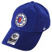 Los Angeles Clippers NBA Clean Up Strapback Baseball Cap Dad Hat