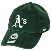 Oakland Athletics MLB Clean Up Strapback Baseball Cap Dad Hat II