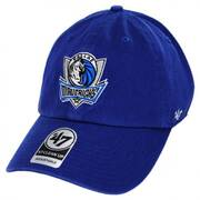 Dallas Mavericks NBA Clean Up Strapback Baseball Cap Dad Hat II