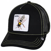 Queen Bee Mesh Trucker Snapback Baseball Cap