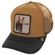 Cub Mesh Trucker Snapback Baseball Cap