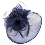Haute Feather Straw Fascinator Headband