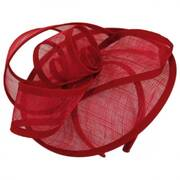 Loop de Loop Straw Fascinator Headband