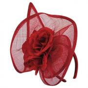 Nouveau Straw Fascinator Headband