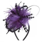 Jubilee Straw Fascinator Headband