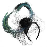Cabaret Straw Fascinator Headband