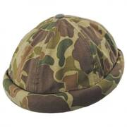 Camo Cotton Skully Beanie Hat