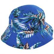 Island Reversible Cotton Blend Bucket Hat