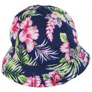 Infants' Hibiscus Cotton Bucket Hat