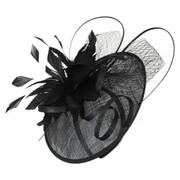 Ginger Sinamay Straw Fascinator Headband