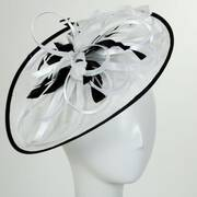Bebe Sinamay Straw Fascinator Headband