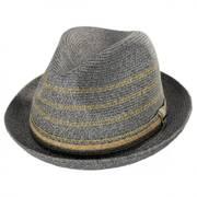 Lichter Toyo Straw Trilby Fedora Hat