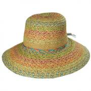 Prismatic Toyo Straw Sun Hat