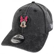 Disney Minnie Mouse Rugged 9Twenty Strapback Baseball Cap Dad Hat