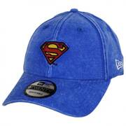 DC Comics Superman Rugged 9Twenty Strapback Baseball Cap Dad Hat