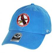 St. Louis Cardinals MLB Cooperstown Clean Up Strapback Baseball Cap Dad Hat