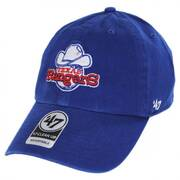 Texas Rangers MLB Cooperstown Clean Up Strapback Baseball Cap Dad Hat