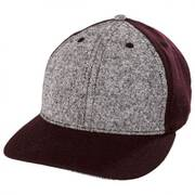 Heather Gray Snapback Baseball Cap