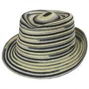 Spacedyed Braid Trilby Fedora Hat