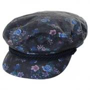 Floral Cotton Fiddler Cap