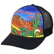 Southwest Desert Trucker Snapback Baseball Cap