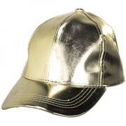 Metallic Adjustable Baseball Cap