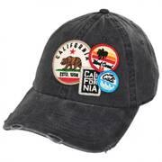 Iconic California Strapback Baseball Cap Dad Hat