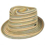 Spacedyed Braid Trilby Fedora Hat