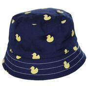 Kids' Pattern Cotton Bucket Hat