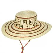 Guadalajara Palm Leaf Straw Bolero Hat