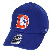 Denver Broncos NFL Clean Up Legacy Strapback Baseball Cap Dad Hat