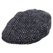 Magee 1866 Donegal Tweed Longford Wool Flat Cap