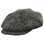 Magee 1866 Donegal Tweed Mayo Olive Wool Newsboy Cap