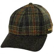 Plaid Strapback Baseball Cap