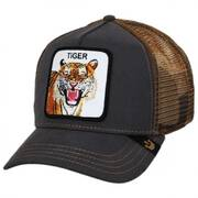 Tiger Trucker Snapback Baseball Cap