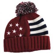 US Flag Beanie Hat