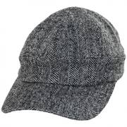 Herringbone Military Wool Cadet Cap