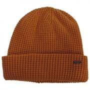 Waffle Wool Blend Beanie Hat