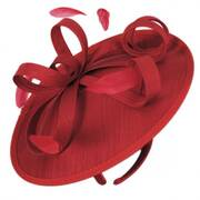 Mayhem Shantung Fascinator Headband