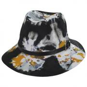 Artisan Wool Felt Fedora Hat