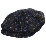 Donegal Striped Wool Newsboy Cap