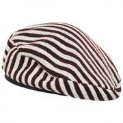Audrey II Striped Beret