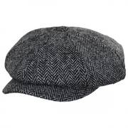 Harris Tweed Castlebay Wool Newsboy Cap