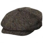 Harris Tweed Northbay Wool Newsboy Cap