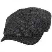 Donegal Shetland Wool Tweed Newsboy Cap