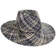 Chiloe Toyo Straw Fedora Hat
