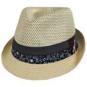 Dorsey Toyo Straw Blend Fedora Hat