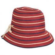Sebastin Toyo Straw Blend Cloche Hat