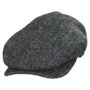 Chiswick Herringbone Square Bill Wool Ivy Cap