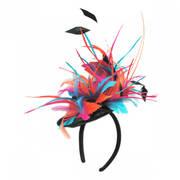 Zenyatta Sinamay Fascinator Hat